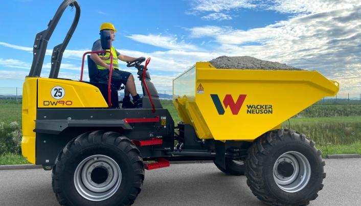 Wacker Neuson DW90 - versjonen uten førerhus.