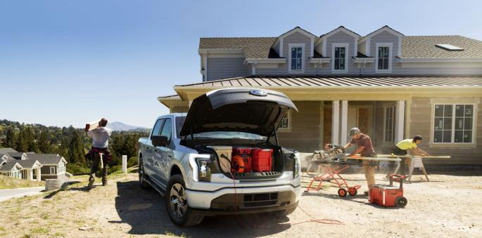 Hele 400 liter får du plass til under panseret som er vanntett og kan dreneres for enklere rengjøring.