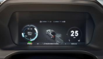 Det digitale dashbordet er på hele 12-tommer og skal gi føreren en helt ny kjøreopplevelse opplyser Ford.