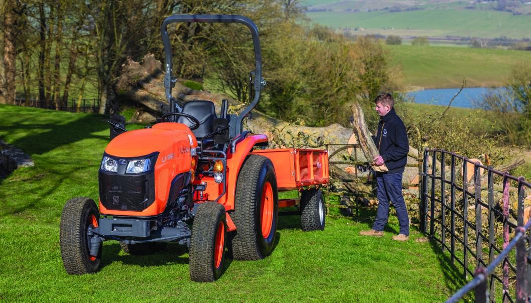 KUBOTA: Inovapro skal selge Kubota traktorer i Vestland og Rogaland. Importør er Nellemann Machinery. Foto: Kubota