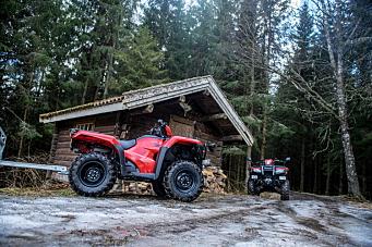 Honda ATV tilbake i Norge
