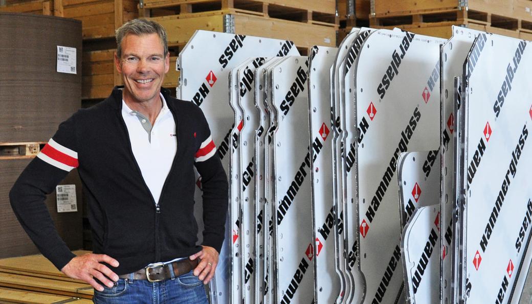 Mats Ljunggren Løvkrona er ny salgsansvarlig for Hammerglass i Norge, Sverige og Danmark.