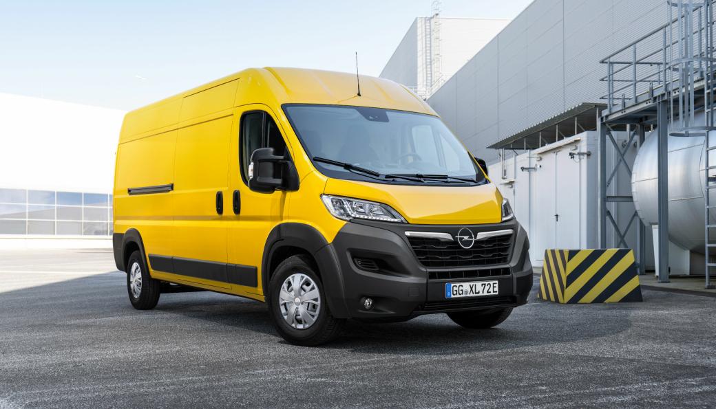 Nye Opel Movano-e blir tilgjengelig fra årsskiftet 2021/2022.