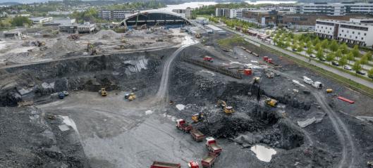 Fossilfritt på Fornebu