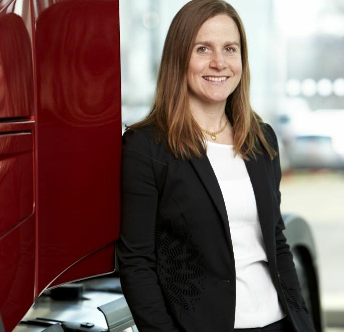 Anna Wrige Berling, trafikk- og produktsikkerhetsdirektør i Volvo Trucks.