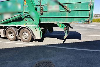 Sjåfør på containerbil hadde «gapt over for mye»