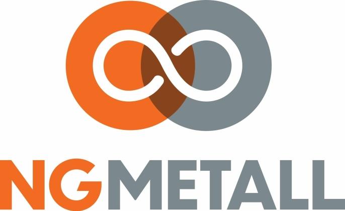 Den nye logoen for NG Metall.
