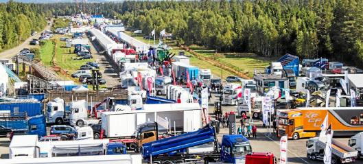 Transportmessa blir Gardermoen Transport & Anlegg