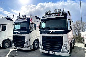 Thermomax Trondheim AS fornyet hele lastebilflåten