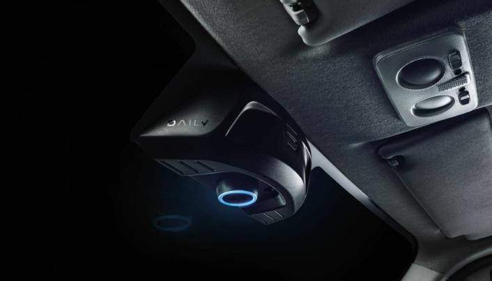 SOM HJEMME: Med Alexa kan føreren snakke med, og spørre Alexa om blant annet bilens tilstand.