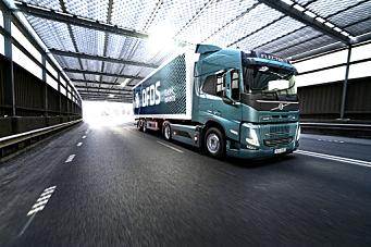 Volvo Trucks og DFDS samarbeider om elektrisk transport