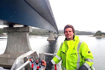Skal inspisere nær 130 bruer og fergekaier fra Rogaland til Finnmark