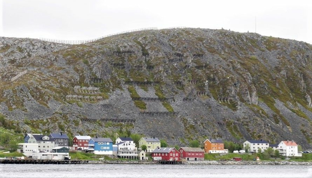 Skredsikring i Kjøllefjord, Lebesby kommune.