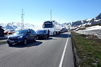 Nå starter arbeidene på E134 over Haukelifjell igjen