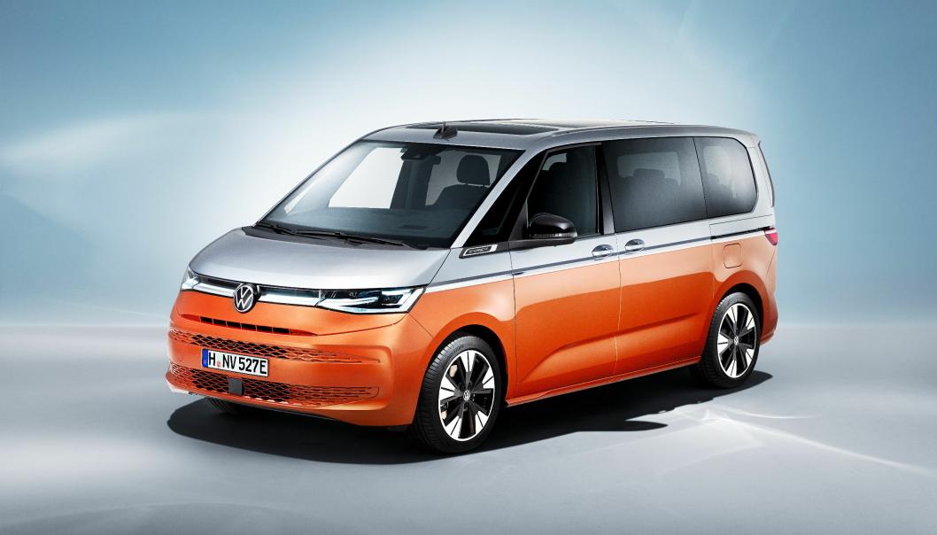 SHUTTLE: Nye VW Multivan, eller T7 blir et kjøretøy for persontransport.