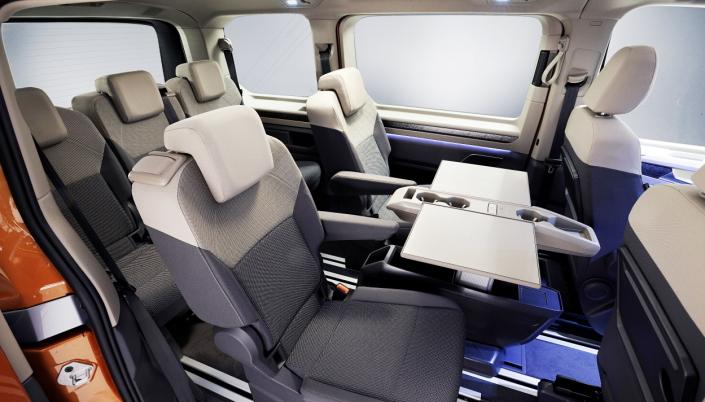 FLEKSIBEL: Innredningen er fleksibel og alle setene kan flyttes eller fjernes individuelt.