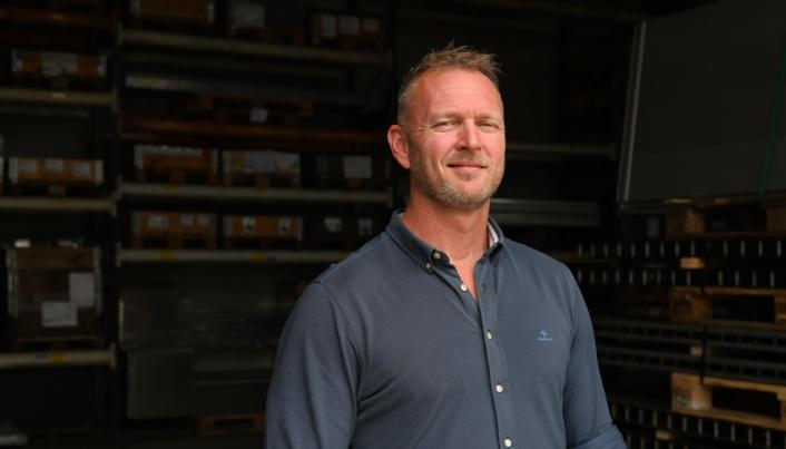 <strong>SALGSSJEF:</strong> Freddy Hansen er internasjonal salgssjef for BEVOLA.
