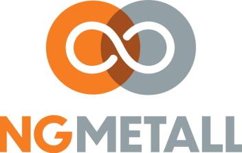 NY LOGO: Med logoen NG METALL er selskapet klar til å satse sterkere internasjonalt.