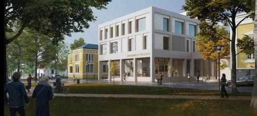 NCC bygger Drammen tinghus for Statsbygg