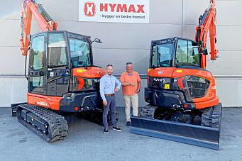 Naboen har bestilt 103 maskiner fra Hymax