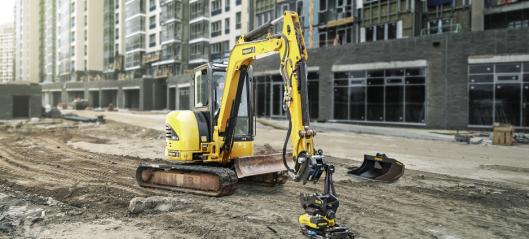 Nytt maskinfeste for mindre gravemaskiner