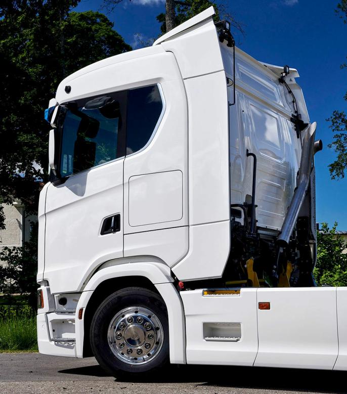 Nå kan Scaniakunder av R- og S-seriene velge førerhus som er 27 cm lengre enn det som har vært mulig fra fabrikk til nå.