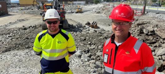 Bygger ny E39 gjennom Knarvik