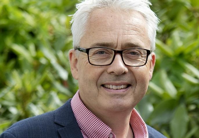 Jan Carsten Gjerløw, daglig leder i Evig Grønn og prosjektansvarlig for H2 Truck.