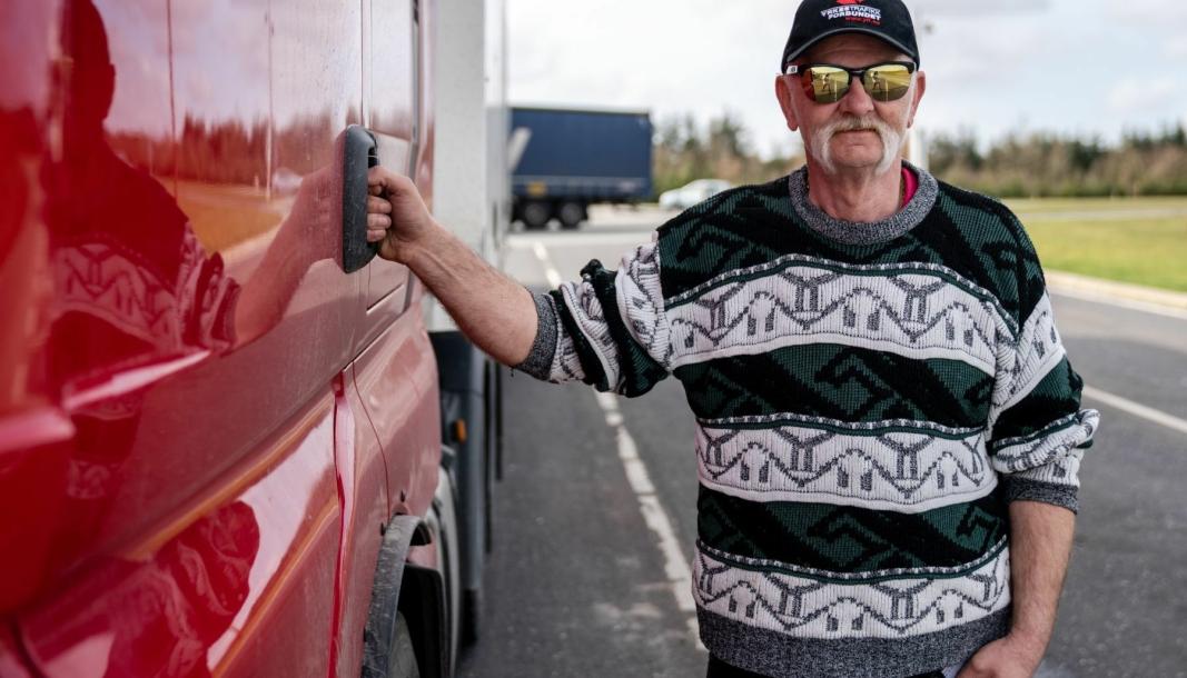 Leder i Yrkestrafikkforbundet Logistikk, Jan Arne Laberget.
