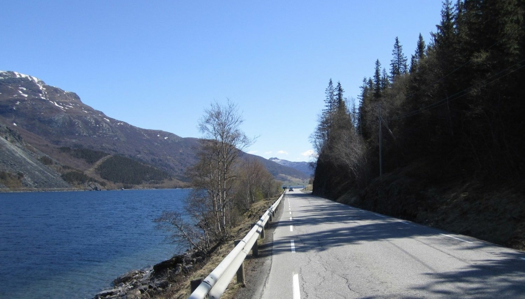 E16 Turnes-Øye i Valdres skal utbedres for å bli tryggere og bedre.