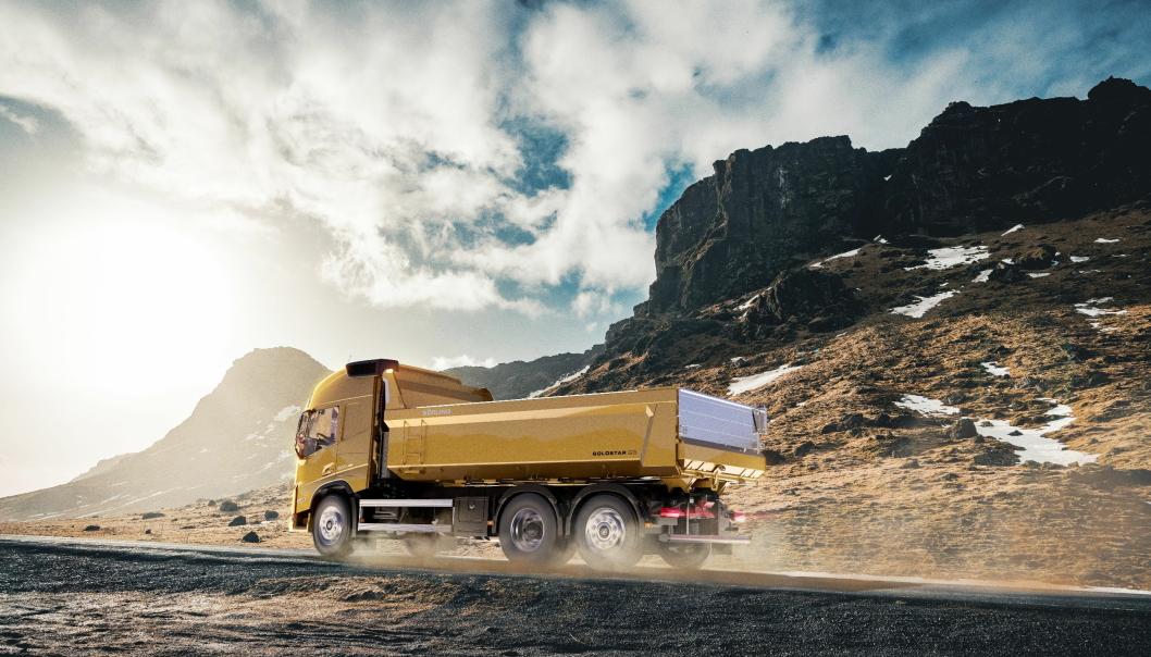 GOLDSTAR G3: Nå slippes 3. generasjon av Sörling Goldstar dumperkasse ut på markedet. Foto: Sörling