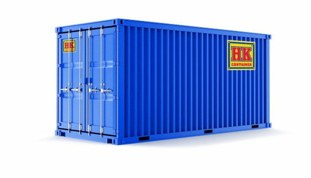 ENIGE: Algeco tar over container- og modulvirksomheten til HK Container AS. Foto: HK Container
