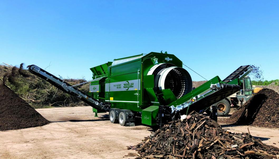HJULVERSJON: MS 5200 leveres også på hjul og er en maskin OP Systems venter seg mye av. Foto: Zemmler