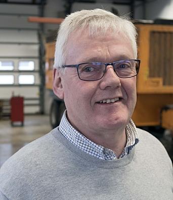 DAGLIG LEDER: Morten Hansen i OP System AS. Foto: Espen Braata