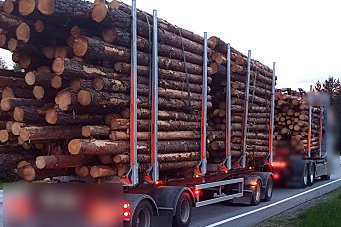 Kjørte med 76,8 tonn - 16,8 tonn over maks. tillatt