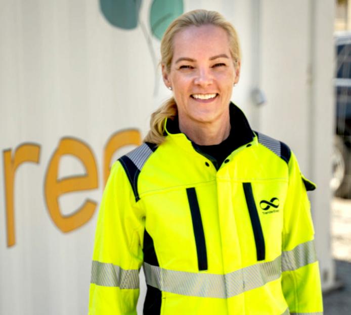 Kristin Sæterøy er senior forretningsutvikler i Enhet marked og forretningsutvikling i Trønderenergi.