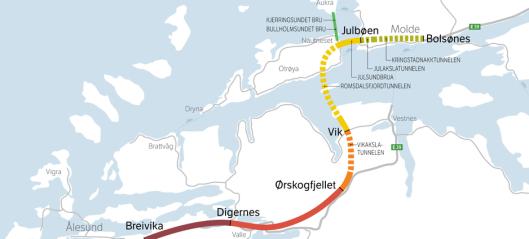 Stor interesse for å bygge E39 Ålesund-Molde