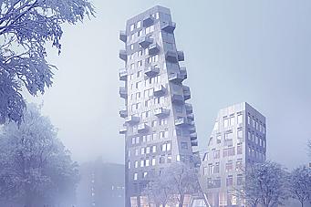 Klart for bygging av Gullhaug Torg 2A