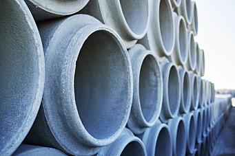 Flere velger betongrør