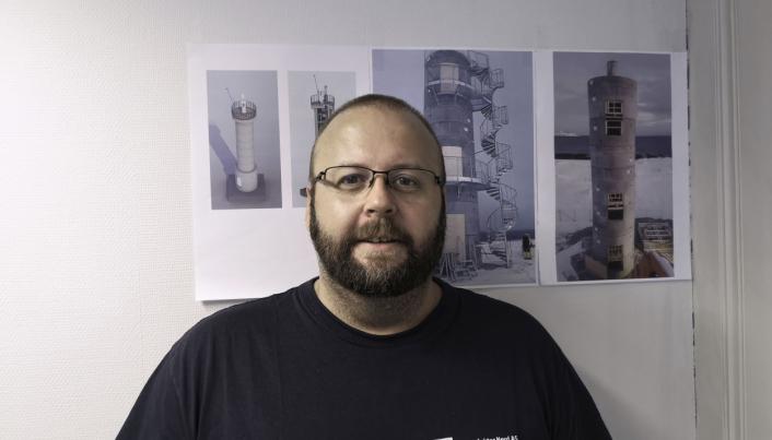 Morten Landro, salgsleder i Loe Rørprodukter AS som er en av eierne i VA-kompetansebedriften Basal AS.