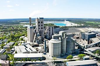 Klimanøytral sementfabrikk