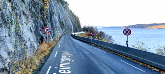 Problemveien stenges for trafikk - igjen