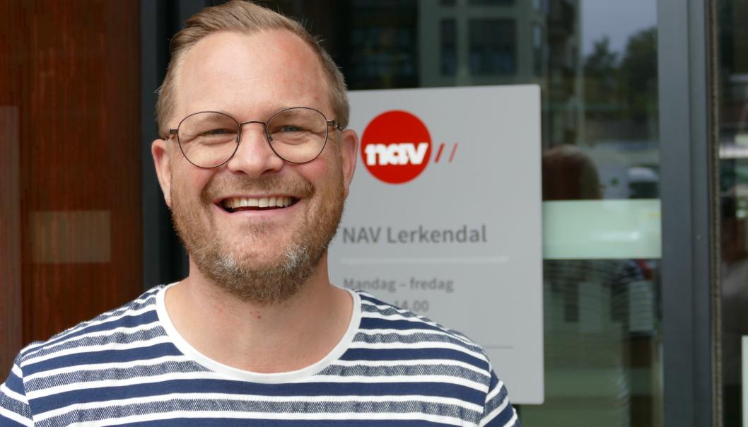 Mads Ødegaard, markedsrådgiver ved NAV Lerkendal.