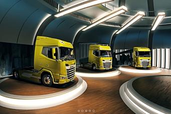 Ny generasjon DAF-lastebiler lanseres digitalt