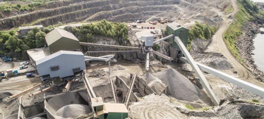 Rekefjord Stone økte produksjonen med 50% med nytt produksjonsanlegg