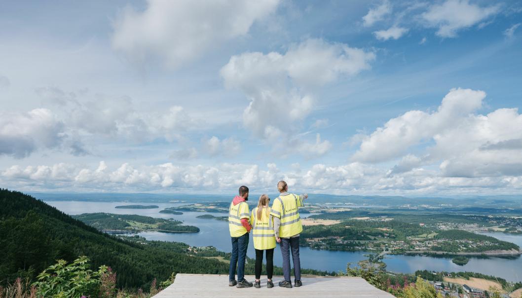Ringeriksbanen og ny E16 skal bygges ut som ett prosjekt mellom Sandvika og Hønefoss. I samarbeid har Bane Nor og Statens vegvesen redusert de forventede utslippene.