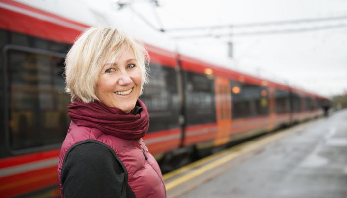 Utbyggingsdirektør Stine Ilebrekke Undrum i Bane Nor.