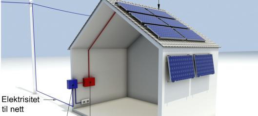 Byggforskserien viser kravene for solcelleanlegg på bygninger