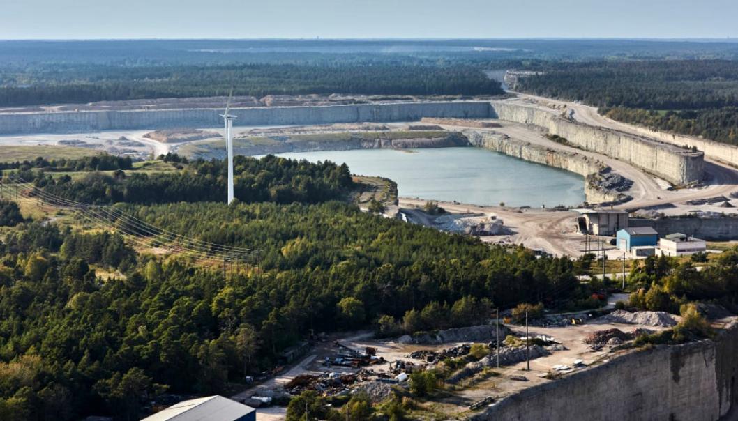 Etter over 100 år med uttak av kalk i Slite på Gotland, Sverige, bestemte en domstol i dag at dette må stoppe til høsten.