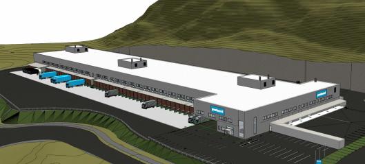 Ny Postnord-terminal i Holmestrand